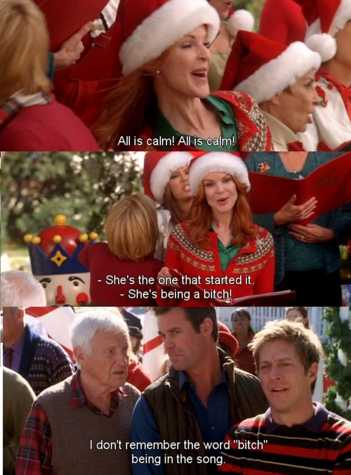 Lynette, Gabby, Bree, Desperate Housewives Christmas Episode