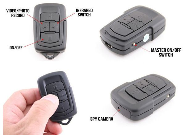 Night Vision Infrared Spy Cam + Keychain http://coolpile.com/gadgets-magazine/night-vision-infrared-spy-cam-keychain/