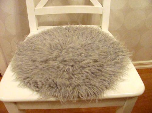 Gör en fuskpäls -- DIY fake fur from crocheted wool yarn