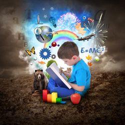 Surdoué, haut potentiel (HP), haut potentiel intellectuel, enfants précoces, surefficient mental, zèbre, personnalité atypique, la littérature (...)