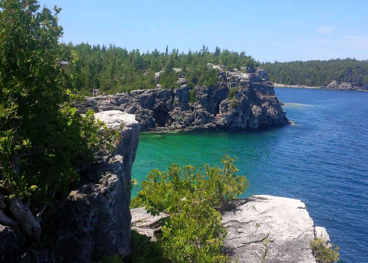 A beautiful scene at Bruce Peninsula National Park