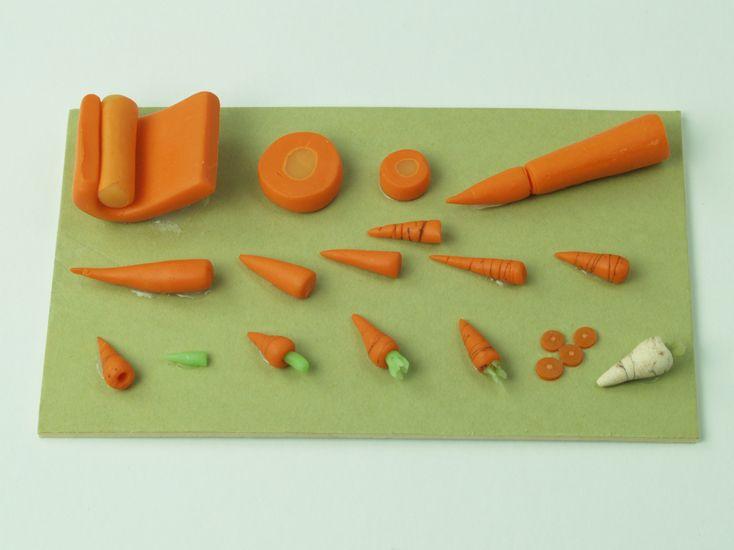veggies, baskets, tiny cakes, etc. Todd Toys and Miniatures - www.toddtoysandminiatures.com