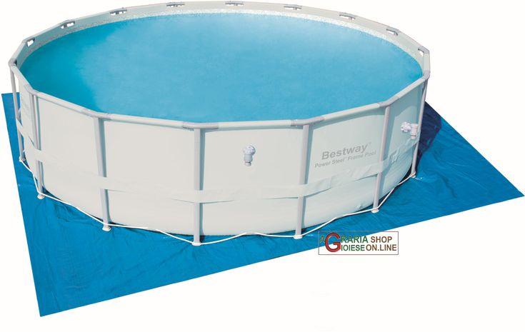 BESTWAY 58251 TELO TAPPETINO DI BASE PER PISCINA CM. 488 http://www.decariashop.it/accessori-per-piscine/20817-bestway-58251-telo-tappetino-di-base-per-piscina-cm-488.html