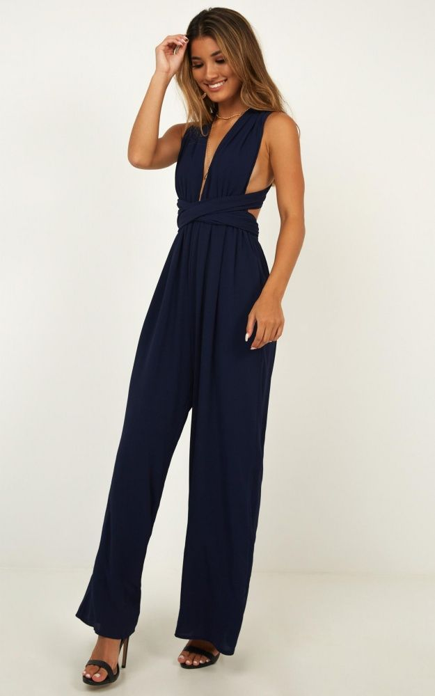 957be7d7d9 Girls Life Jumpsuit In Navy Produced in 2019