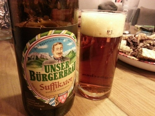 Suffikator. Bürgerbräu. Dunkel Doppelbock. Bad Reichenhall. #bier #beer
