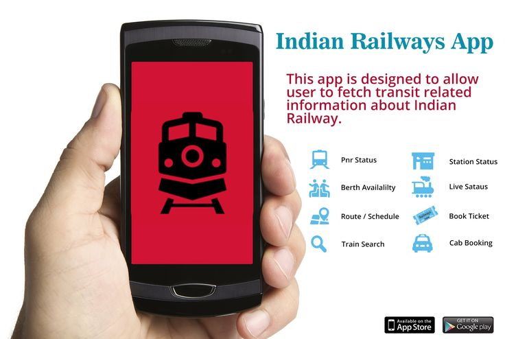 The Indian Rail PNR & IRCTC enquiry app is one of the best and latest railway mobile app which has  privately maintained and does not have any official connection.