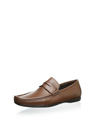56% OFF Bruno Magli Men's Partie Penny Moccasin (Brown)
