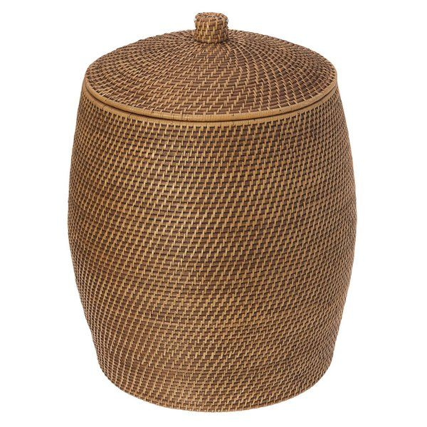 This Rattan Hamper Will Keep Laundry Out Of Sight In A Naturally Beautiful Container Hand Woven From Rattan Foll Laundry Hamper Laundry Basket With Lid Hamper