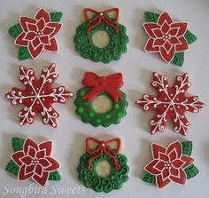 christmas wedding bell sugar cookies - Google Search