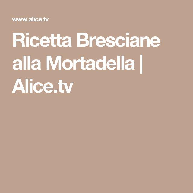 Ricetta Bresciane alla Mortadella | Alice.tv