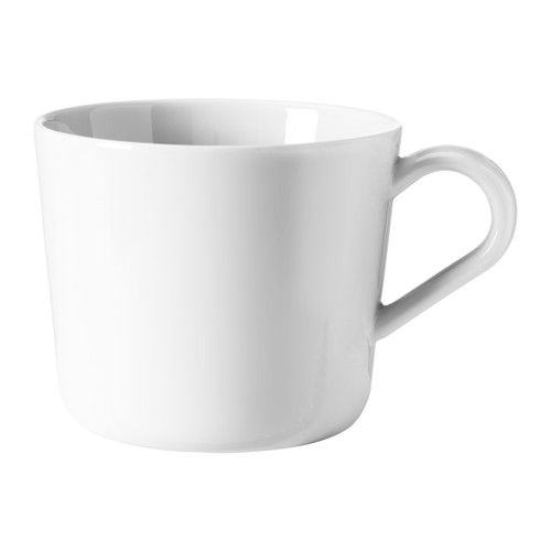 IKEA 365+ Mug IKEA Made of feldspar porcelain, which makes the mug impact resistant and durable. 15kr/ st