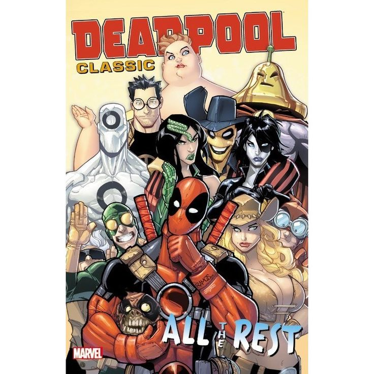 Marvel Deadpool Classic 15: All the Rest