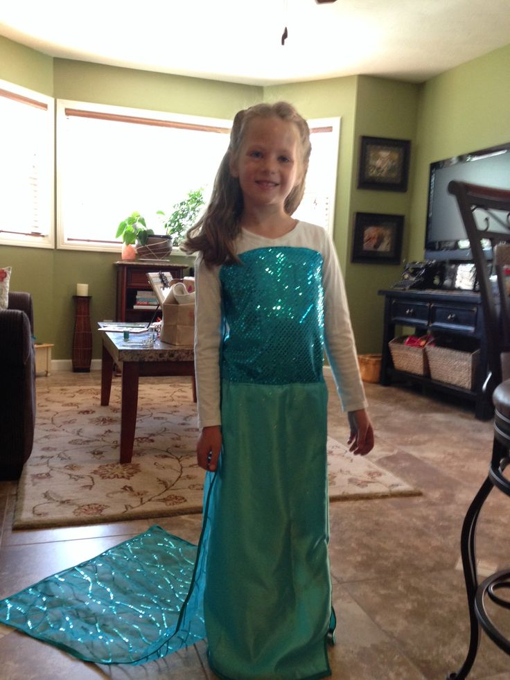 Homemade Elsa costume from Frozen  sc 1 st  Pinterest & 15 best frozen costume images on Pinterest | Frozen costume Frozone ...