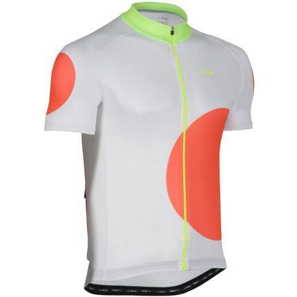 dhb Blok Orange Circle Short Sleeve Jersey