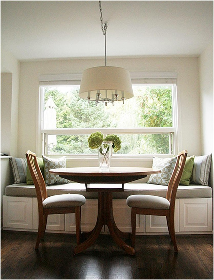 Breakfast Nook With A Window Seat