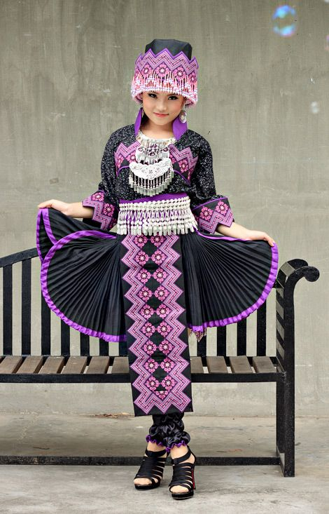 nalisfashion.com Hmong Clothing Purple Outfit 7 - $189