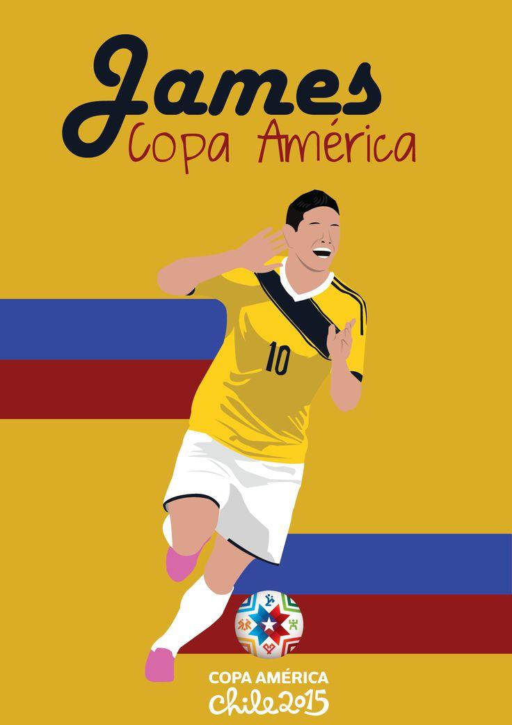 De esta ilustración me gusta lo que le puse de fondo, las franjas azules y rojas que con el amarillo de fondo hacen la bandera de colombia