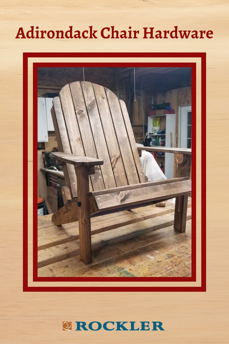 Folding adirondack chair templates with plan and stainless