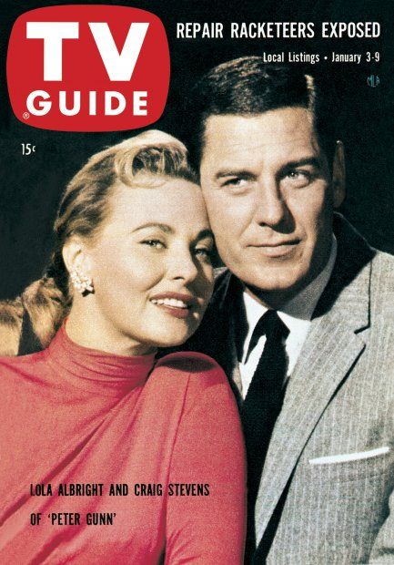 Pin on TV Guide Covers 1950s