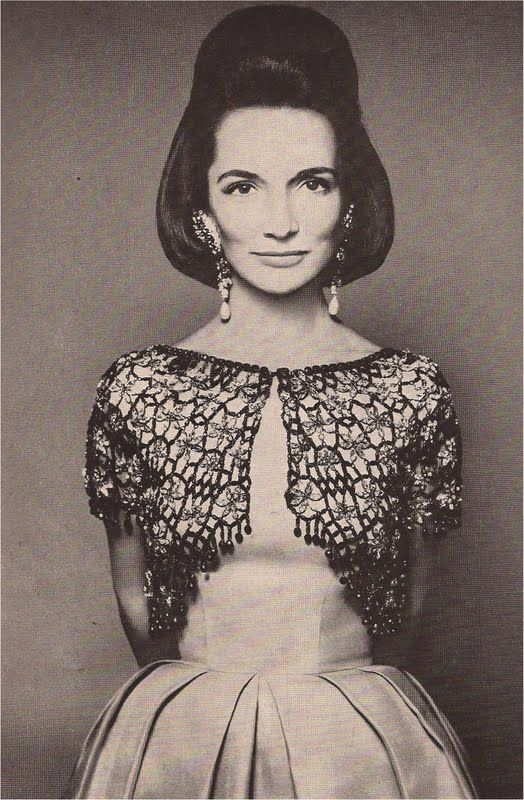 Lee Radziwell.  Spectacular.