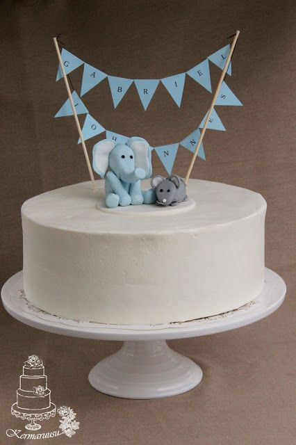 Kermaruusu: Elefantti ja hiiri ristiäiskakku