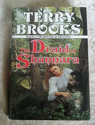 The Druid of Shannara Book Two of Heritage by Terry Brooks 1991 HCDJ 1st Edition /1st Printing