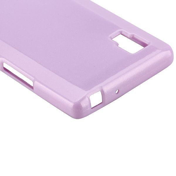 Glitter Shell (Lilla) LG Optimus L9 Cover