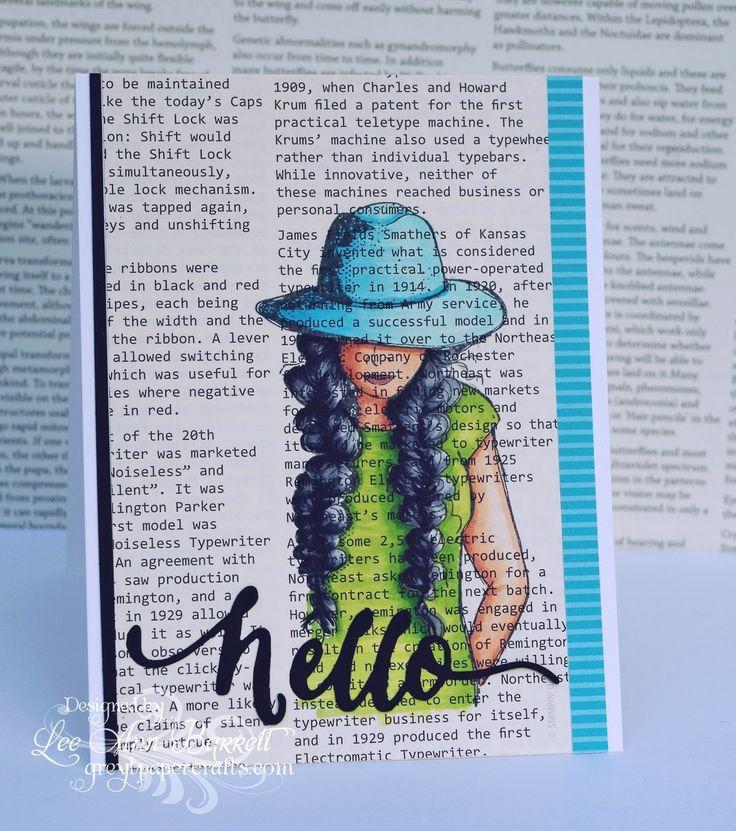 hello card by Lee Ann Barrett