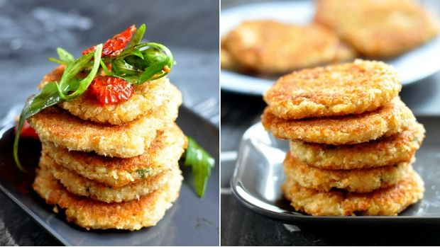 Pohankové placičky / Buckwheat pancakes