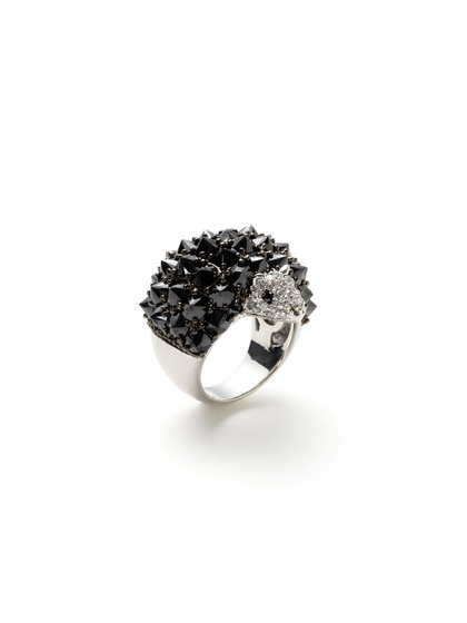 Crystal Porcupine Ring $83 love it!