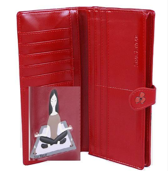 Cute red Yoga wallet for mothers day @ www.rapitupgifts.com.au