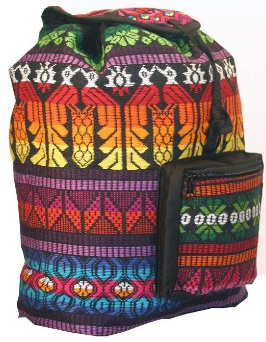 Amazon.com: Bright and Colorful Guatamalan Backpacks: Sports & Outdoors