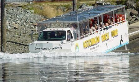 The Ketchikan Duck Tour - my favorite tour!