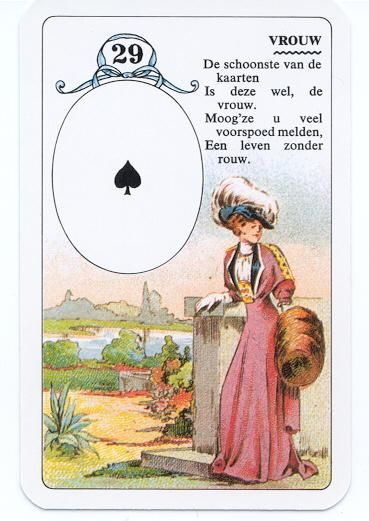 Lenormand - de vrouw