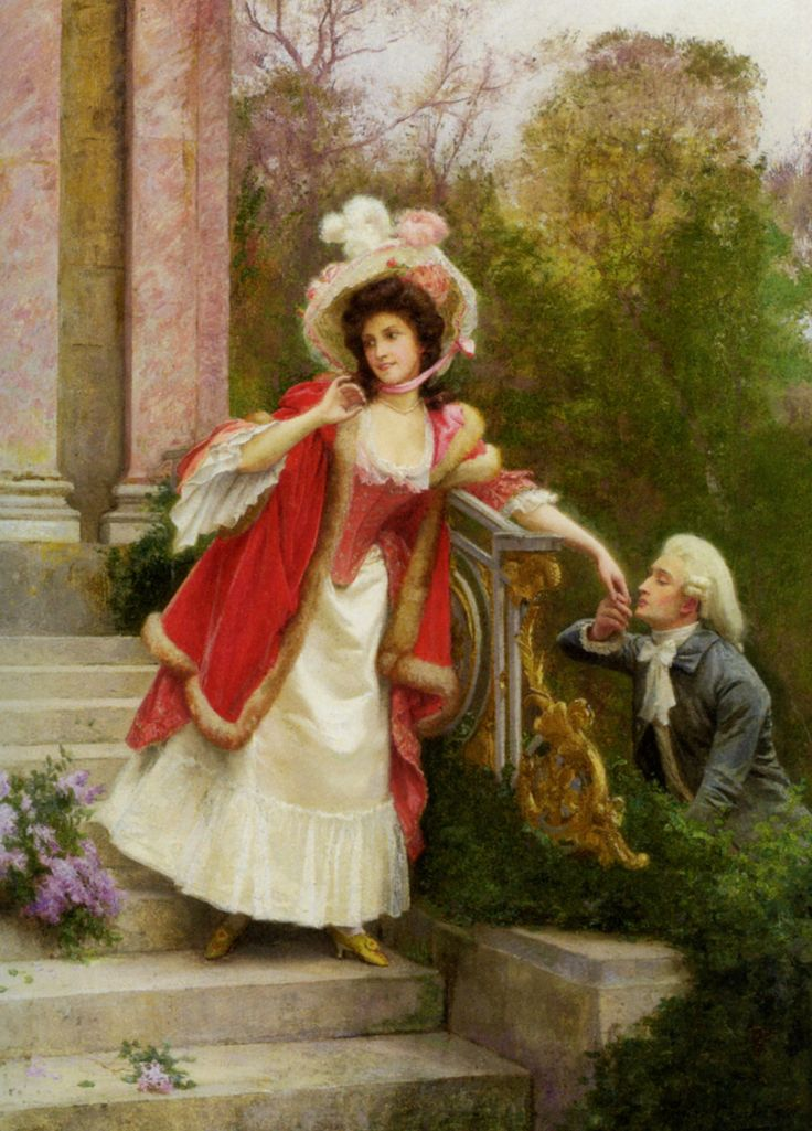 "gorgeousgeorgians: ""The Lovers by Jules Girardet """