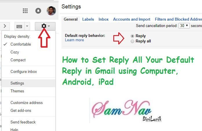 How to Set Reply All Your Default Reply in Gmail. Open your browser in your computer, open Gmail. In the right top, click on Settings.