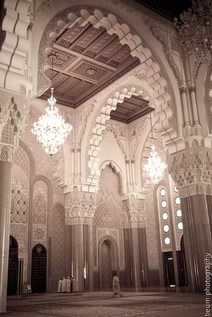Hassan II Mosque (Grande Mosque) - South Door - Casablanca | Flickr - Photo Sharing!