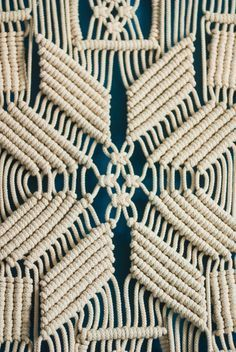 This beautiful large macrame wall hanging is a wonderful accent to add a boho vibe to your home. Recently macrame wall decor has started to return