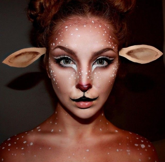 Best 25+ Deer halloween makeup ideas on Pinterest | Bambi costume ...
