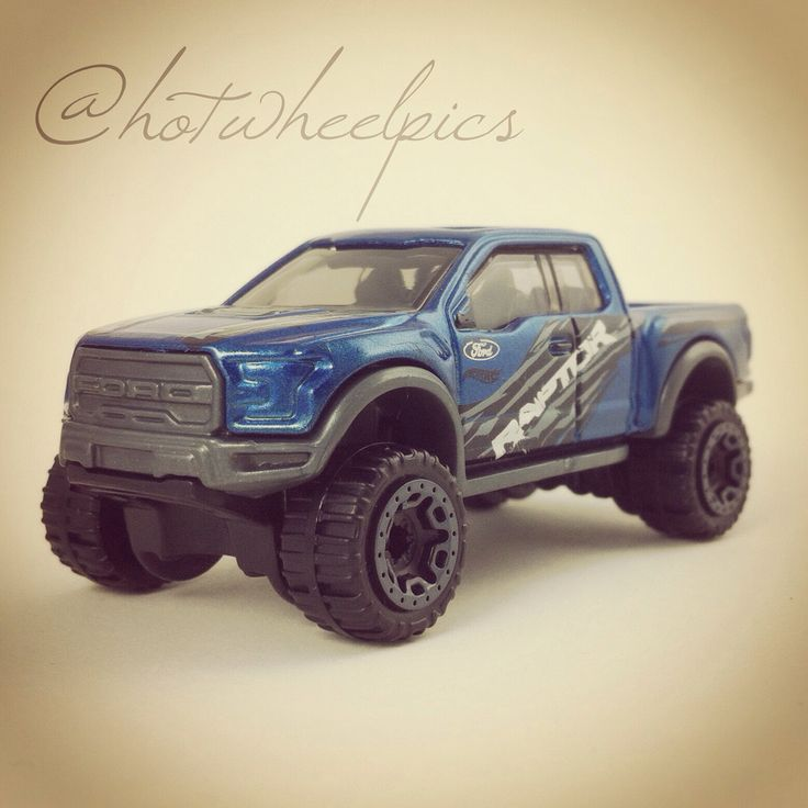 '17 Ford F-150 Raptor - 2016 Hot Wheels - Hot Trucks 1:64 Scale