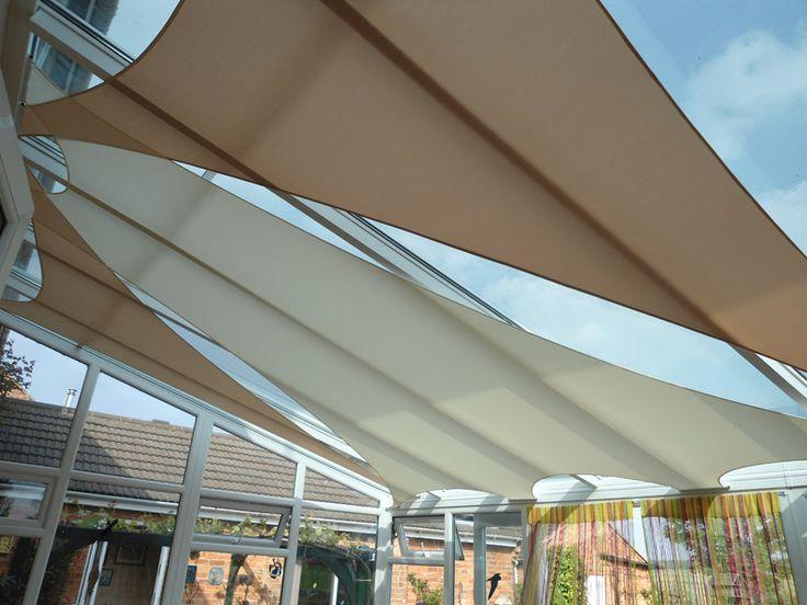 Indoor shades #conservatory