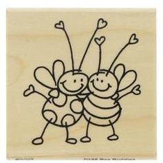 Hobby Lobby-bee buddies rubber stamp
