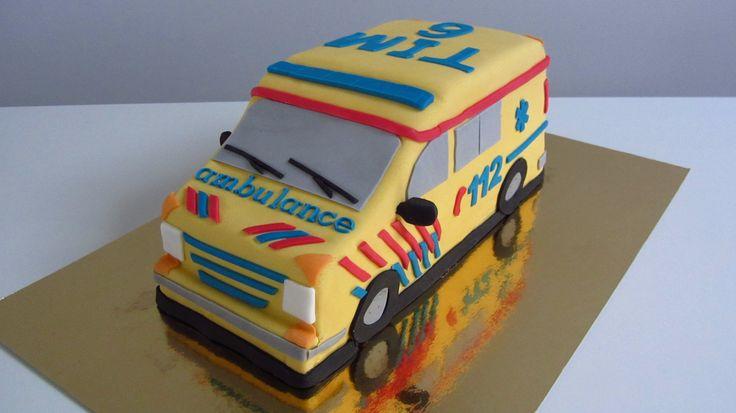 Ambulance taart