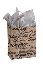 Medium+Paris+Script+Paper+Shoppper. $7.50 for 25