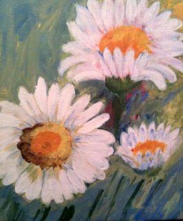 Art by Viorica Buga: Daisy