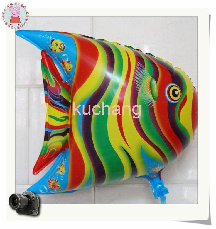 Goedkope Hotsales! 10 stk/partij cartoon ballonnen opblaasbare dier afrikaanse vis folie ballon baby speelgoed vis ballon/baloes/van globos goede leverancier, koop Kwaliteit ballonnen rechtstreeks van Leveranciers van China: Hotsales! Cartoon opblaasbare ballonnen 10pc/lot afrikaanse dieren vis folie ballon Baby speelgoed ballon vis/balo