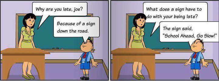 Funny kid in school cartoon - http://jokideo.com/funny-kid-in-school-cartoon/