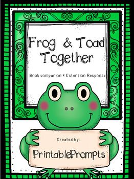 Frog and Toad Together- Enjoy this Arnold Lobel favorite as you read Frog and Toad together with your class or reading groups!Includes:Comprehension questions for each chapterJournal/packet cover for student sheetsAdditional extension comprehension questions (think, mark, and discuss question is the same for all my frog and toad packs)Extension writing/ list writing activity per chapter.Also included in all my Frog and Toad Packs*Generic response pages*Character web and writing pagesPlease…