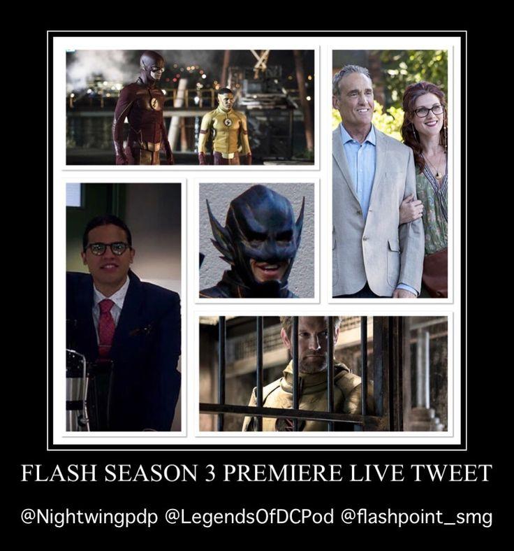 "The Flash ""Flashpoint"" Live Tweet!"