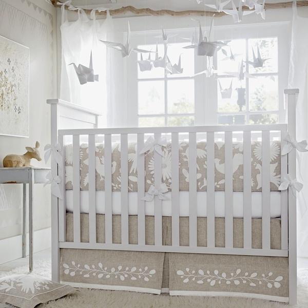 shabby chic baby bedding  Baby Carroll  Pinterest